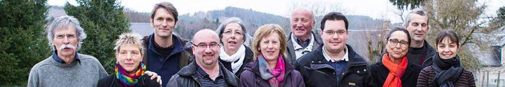 Les élus de la commune de Tarnac